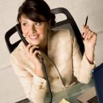 Telefonska slušalka ohranjevalni dejavnik napetosti v vratu